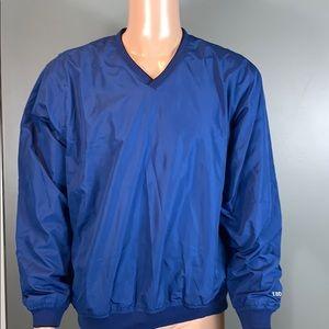 Izod Mens Blue Pull Over Jacket SZ.L